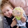 Haba lalka szmacianka Jil 30 cm dla dzieci od 18 mc