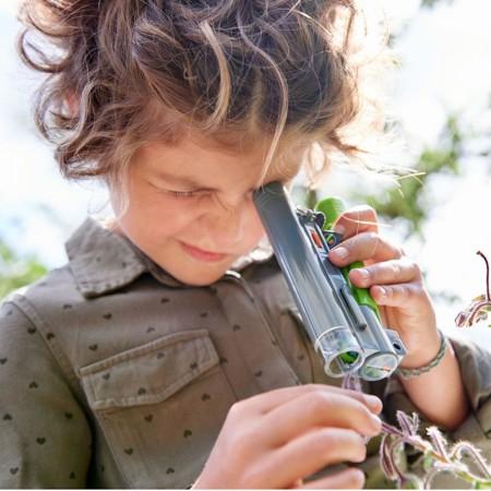 Haba Terra Kids Mikroskop dla dzieci powiększania 30x