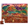 Powyżej i poniżej - Świat dinozaur puzzle kartonowe 48 elementów, Crocodile Creek