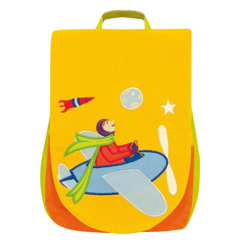 Plecak Samolot dla dziecka 2 lata lekki do przedszkola, L'Oiseau Bateau