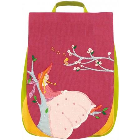 Plecak dla 2 latki Dziewczyna ze Słowikiem, L'Oiseau Bateau