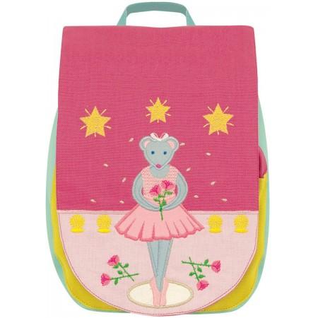 Plecak Myszka Baletnica dla dziewczynki 2 latki, L'Oiseau Bateau