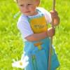 Fartuszek Warsztat dla dzieci 2-4 lata do malowania, gotowania