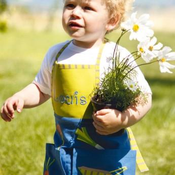 Fartuszek Ogród dla dzieci 2-4 lata do malowania, gotowania