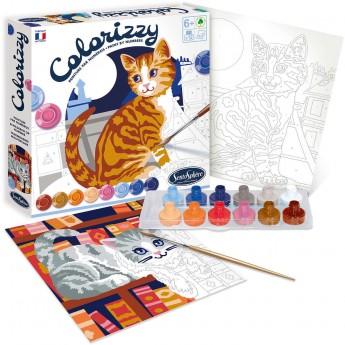 SentoSphere COLORIZZY Koty malowanie po numerach 4503