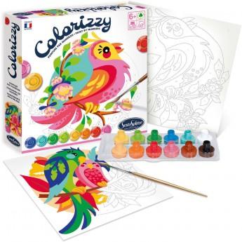 SentoSphere COLORIZZY Papugi malowanie po numerach 4505