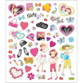 Dziewczęta naklejki dla dzieci +3, Creativ Company