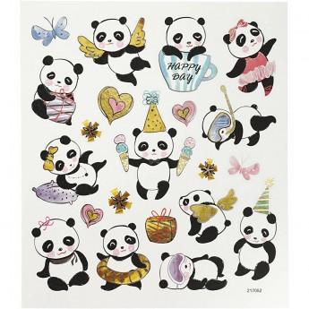 Pandy naklejki dla dzieci +3, Creativ Company