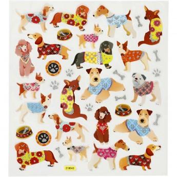 Pieski naklejki dla dzieci +3, Creativ Company