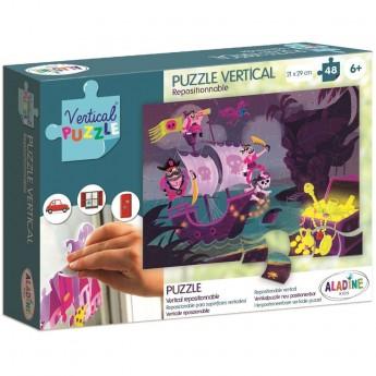 Aladine Puzzle Wertykalne Piraci 48 elementów