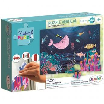 Aladine Puzzle Wertykalne Morze 48 elementów