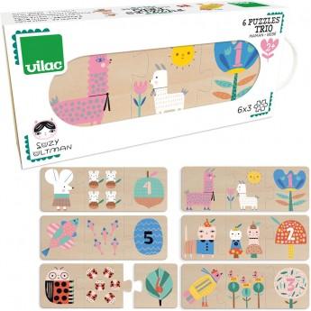 Vilac Puzzle Trio Mama i Dziecko by Suzy Ultman