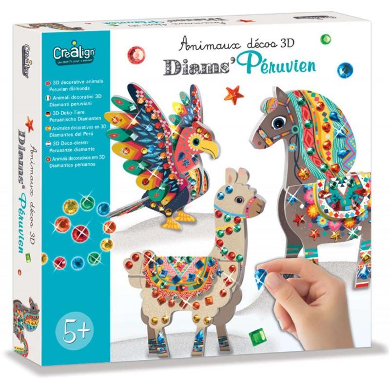Crea Lign' Zwierzęta Południowoamerykańskie z diamentami