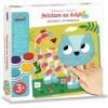 Malowanie palcami Słodkie Przyjaciele zabawka plastyczna +3, Crea Lign'