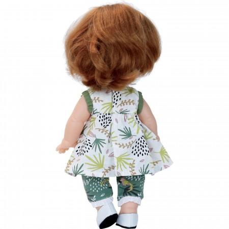 Petitcollin Lalka dla 3 latki Lilou 28cm z długimi włosami zabawka