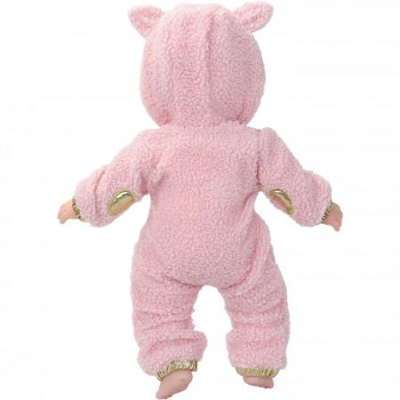 Petitcollin Lalka bobas Emma-Panda 36cm miękkie ciało +18mc