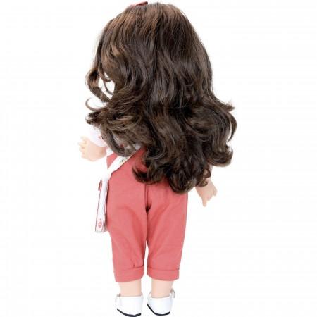 Petitcollin Lalka dla 3 latki Emilia Koral 39cm z długimi włosami