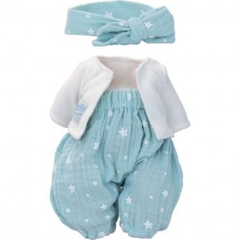 Petitcollin Ubranka dla lalek 28 cm Marilou spodenki, bluza, opaska
