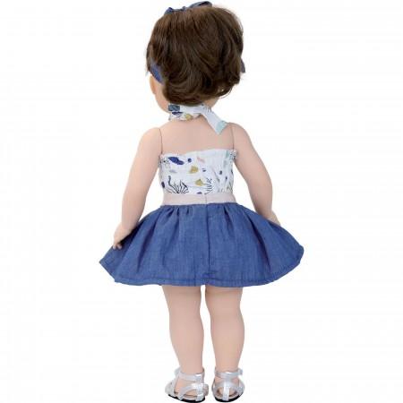 Petitcollin Lalka dla dzieci Marie-Francoise 40cm Midi +3