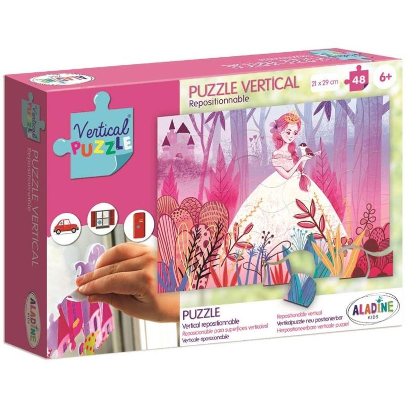 Aladine Puzzle Wertykalne Księżniczka 48 elementów