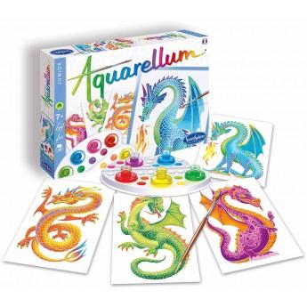 Aquarellum Junior Smoki obrazy do malowania +7   Dadum