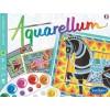 Konie 3 obrazy do malowania i farby Aquarellum, SentoSphere