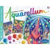 Paris by Night 3 obrazy do malowania i farby Aquarellum, SentoSphere