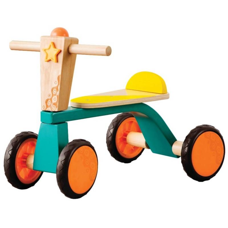 B.Toys Drewniany jeździk Smooth Rider dla dzieci +18mc | Dadum Kraków