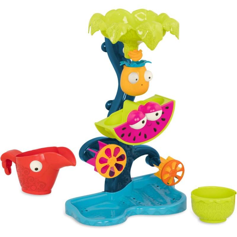 B.Toys Młyn wodny kaskada z atrakcjami – do zabawy w piasku i wodzie +18mc