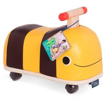 B.Toys Jeździk drewniano-skórzany Pszczółka Boom Buggy +18mc