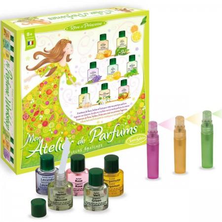 Zestaw do robienia perfum dla dzieci Fabryka Perfum Kwiaty Świeże SentoSphere