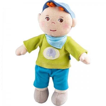 Haba lalka szmaciana Jonas dla niemowląt od 6mc