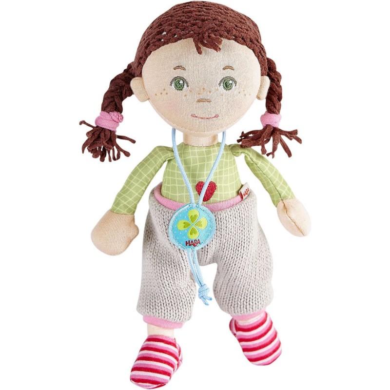 Haba lalka szmacianka Julika 21 cm dla dzieci od 12mc