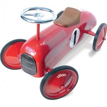 Vilac Jeździk czerwony dla dzieci od 18mc metalowy stylowy