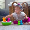 Fat Brain Toys Sorter Kolorowe Wańki Wstańki SpinnyPins +18mc