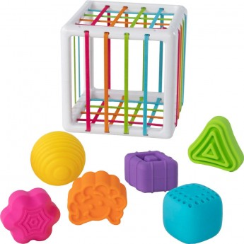 Fat Brain Toys Elastyczna Kostka. InnyBin +10mc