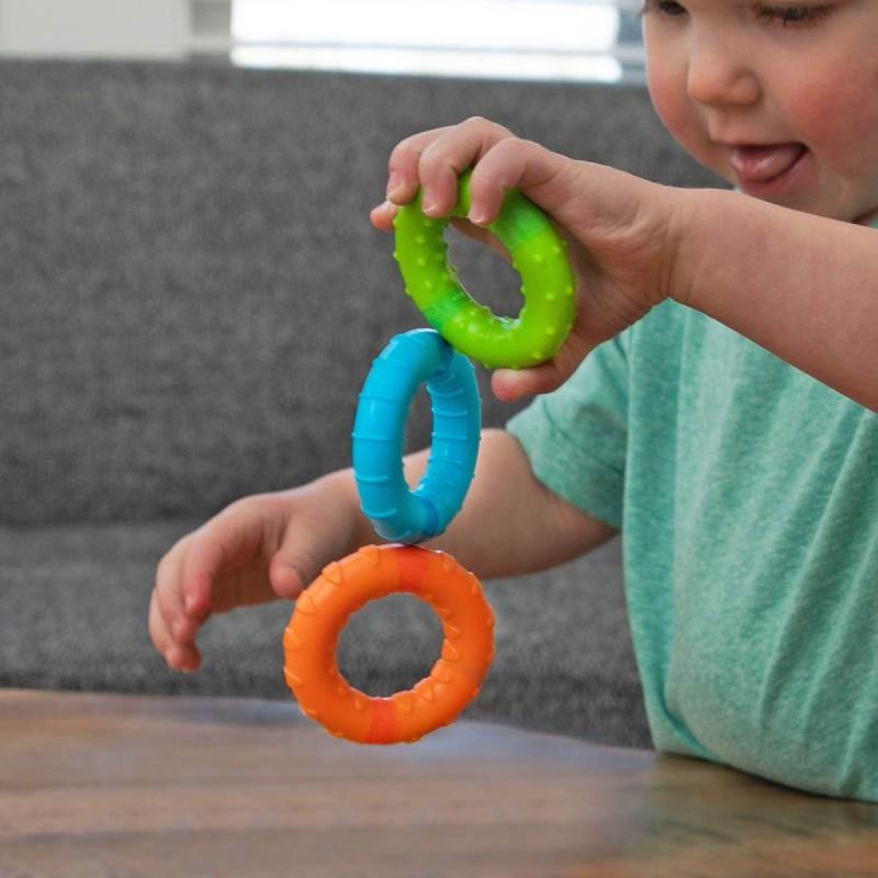 Fat Brain Toys Wesołe Kółeczka Magnetyczne SillyRings +12mc