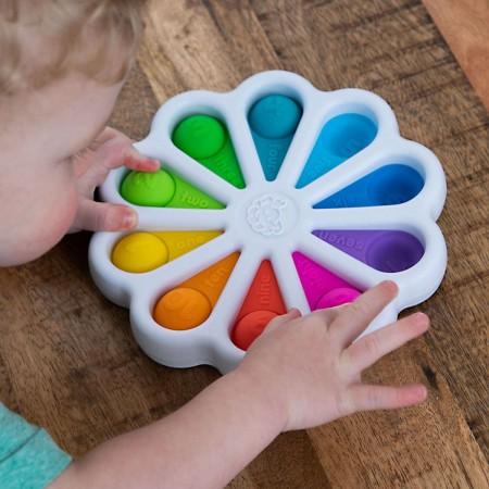 Fat Brain Toys Bąbelki Cyferki Dimpl Digits +2