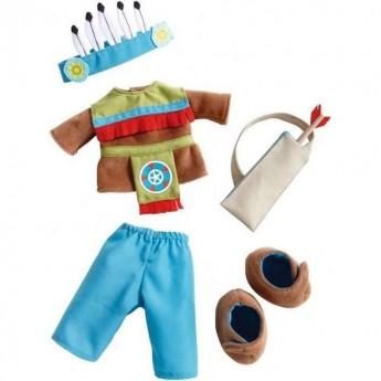 Haba Komplet ubrań Indianin dla lalek 30cm +18mc