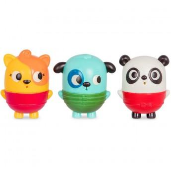 B.Toys Squish&Splash zestaw trzech rozkręcanych sikawek +6mc