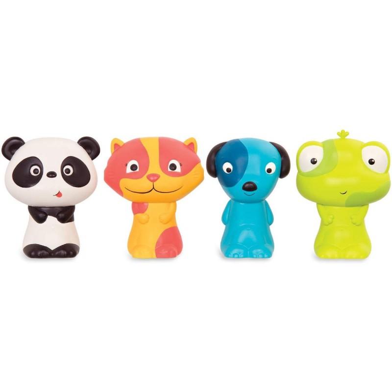 B.Toys Zestaw 4 pacynek na palce – ZAŁOGA B.