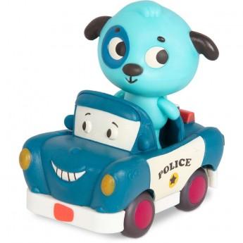 B.Toys Miękkie autko sensoryczne radiowóz z Pieskiem od 12mc
