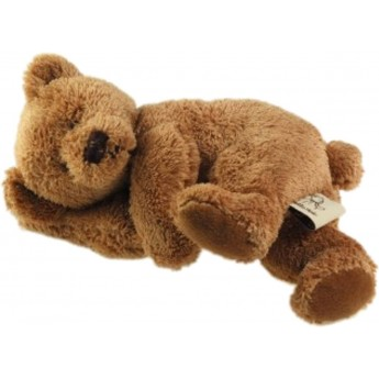 Śpiący Miś kolor czekolada przytulanka, Les Petites Marie