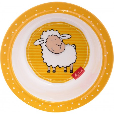 Sigikid Miseczka dla dziecka żółta Owieczka bezpieczna