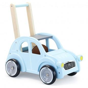 Vilac Chodzik pchacz drewniany Citroen dla dzieci +12mc
