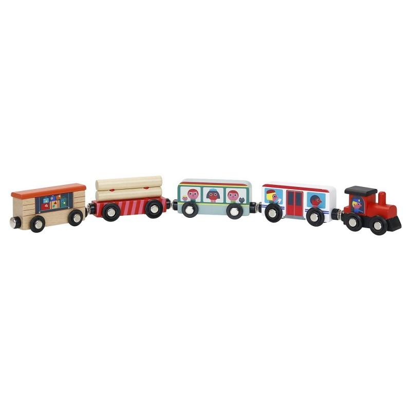 Vilac Pociąg drewniany Grand Express dla dzieci od 3 lat