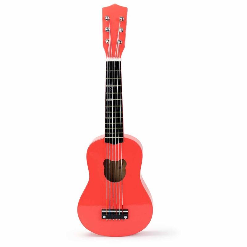 Vilac Gitara Fluo zabawka drewniana muzyczna dla dzieci +3