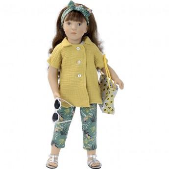 Lalka dla dzieci Charlotte 48cm z długimi włosami, Petitcollin
