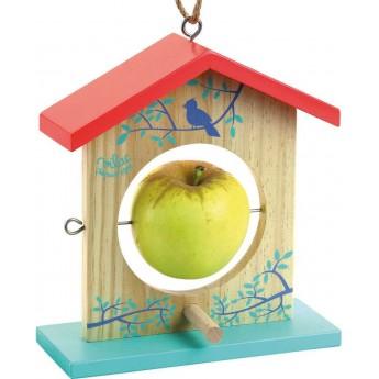Vilac Drewniany karmnik dla ptaków na jabłko i nie tylko