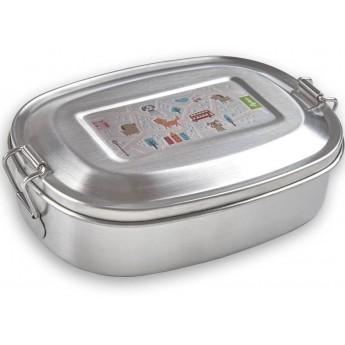 Sigikid Lunchbox metalowy Kotki dla dzieci do szkoły